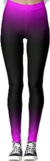 DIYCCY - Pantalones de yoga para mujer, color morado y negro