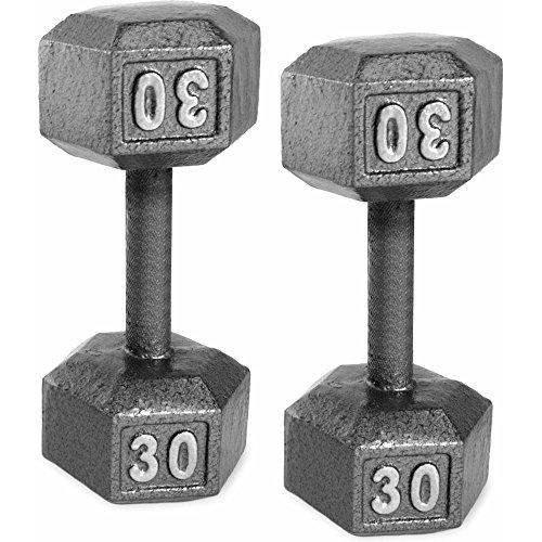 CAP Barbell Cast Iron Dumbbell (30)