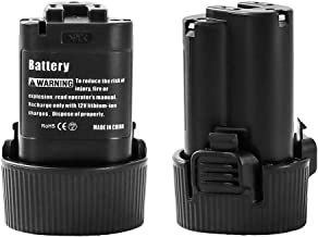 2 Pack BL1013 3.0Ah Replacement for Makita 10.8V Battery Lithium BL1014 194550-6 194551-4 195332-9 Cordless Power Tools