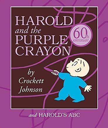 Harold and the Purple Crayon Board Book Box Set: Harold and the Purple Crayon and Harold's ABC