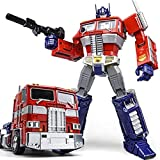 HEWA Wei Jiang Optimus Prime Transformer Toy Masterpiece Toy Oversized MPP10 Alloy G1 Figure 12 Inch