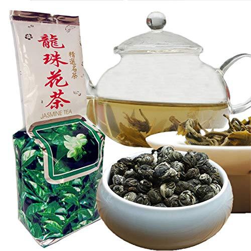 250g (0.55LB) Bestnote 100% Jasmin dargon Perlen Tee Organische Jasmin-Blume Grüner Tee Grünes Lebensmittel Gesunder Tee duftender Tee