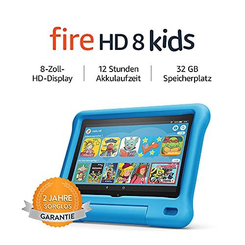 Amazon Fire HD 8 – Kinder-Tablet – Kids Edition (2020) – 8 Zoll, 32 GB - 8