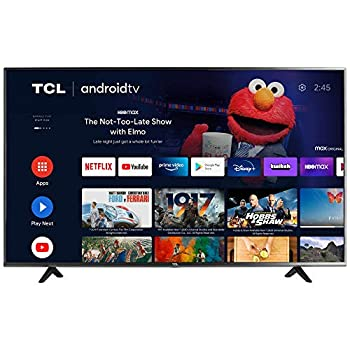 TCL 50-inch Class 4-Series 4K UHD HDR Smart Android TV - 50S434 2021 Model