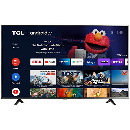 TCL 50-inch Class 4-Series 4K UHD HDR Smart Android TV -...