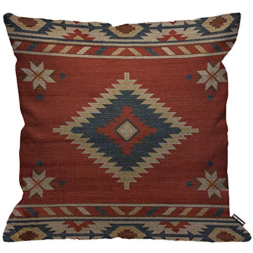 HGOD DESIGNS Cushion Cover Vintage Southwest Native American,Throw Pillow...