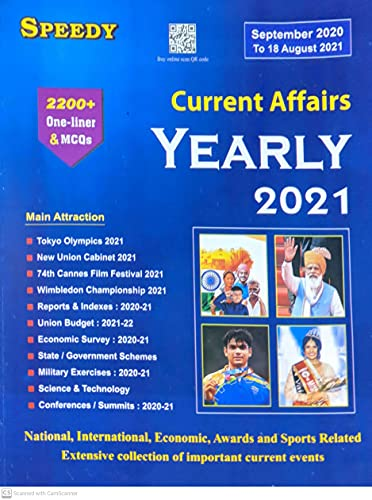CURRENT AFFAIRS YEARLY 2021 SEPTEMBER 2020 TO 18 AUGUST 2021 ENGLISH