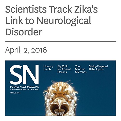 Scientists Track Zika's Link to Neurological Disorder audiobook cover art