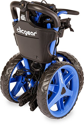 Clicgear Unisex's 3.5 Plus Trolley, Blue, One Size