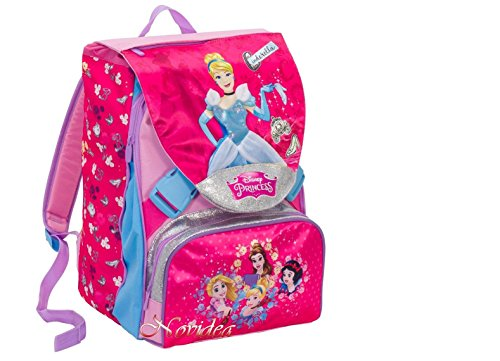 Disney Princess Expandable School Backpack with Bag Included