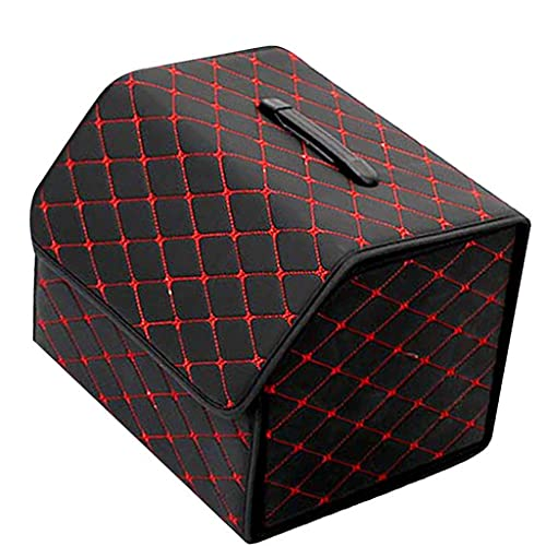 Bolsa de Almacenamiento de Carga Impermeable Organizador Organizador Cajas a Prueba de Polvo Almacenamiento Organizador Papelera Caja de Almacenamiento Plegable 0717 (Color Name : 40x31x30cm)