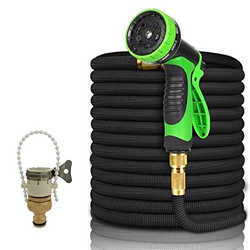 YUJIAN Expandable Magic Rubber Hose Garden Hose Lightweight Wear-Resistant Plastic Hose for Garden Irrigation Cleaning & Car Washing