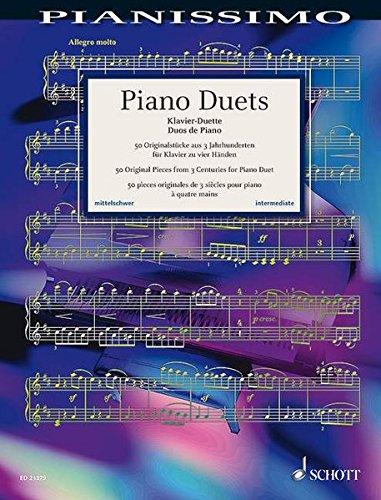 Schott Music Piano Duets, 4ms Pianissimo