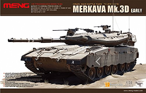 MENG-Model MGK-TS1 Merkava MK IIID Main Battle Tank 1:35