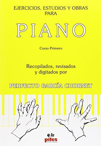 Ejercicios, estudios y obras para piano