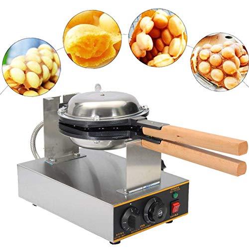YIHGJJYP Waffles Piastra Bubble Waffle Maker Uovo Elettrico creatore della cialda Eggettes Puff Cake Ferro Padella Antiaderente Muffin Macchina di Cottura del Forno