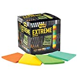 Post-it Extreme Notes, Stop Re-work on the Job, Works in 0 - 120 degrees Fahrenheit, 100X the holding power, Green, Orange, Mint, Yellow, 3x3 in, 12 Pads/Pack, 45 Sheets/Pad (EXTRM33-12TRYX)
