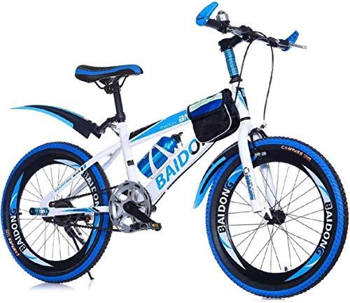 MJY Bicicleta de montaña con velocidad única, bolsillo en el cuadro y...
