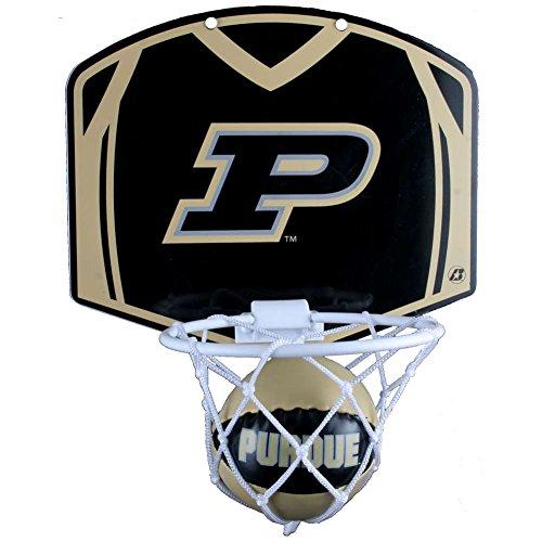 Best Price Purdue Boilermakers Mini Basketball and Hoop Set