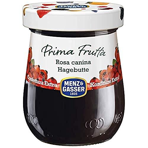 Menz&Gasser Confettura Extra di Rosa Canina Prima Frutta - Confettura con Frutta di Alta Qualità, 1...
