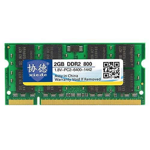 Sevenplusone licht en mooi, gemakkelijk te transporteren • DDR2 800 MHz X027 2 GB algemene compatibiliteit • RAM-module voor uw laptop, opslagcapaciteit 2 GB