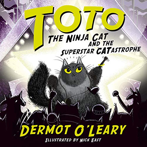 Toto the Ninja Cat and the Superstar Catastrophe audiobook cover art