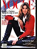 Vogue Magazine Cindy Crawford Cover August 1993