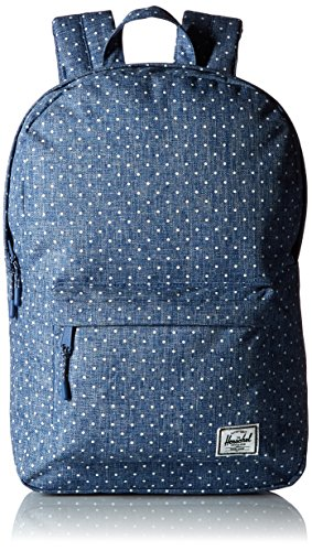 Herschel Supply Company SS16 Casual Daypack, 22 Liters, Limoges Crosshatch/ White Polka Dot