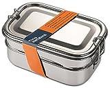 King International Tiffin Lunch Box |Steel Lunch Box| Stainless Steel Box|13 cm (3 tier)|Steel Lunch Boxes for Kids| Steel Tiffin Lunch Box kids |Indian Metal Tiffin| Steel Bento tiffin|Made in India