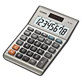 Casio MS80B MS-80B Tax and Currency Calculator, 8-Digit LCD