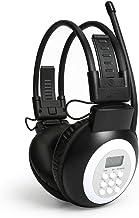 JESSON Walkman Headphone Radio Portable FM Stereo Headset Radio Receiver Digital FM..