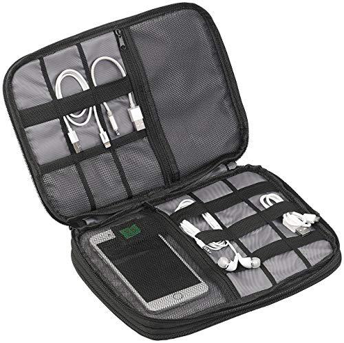 """Xcase Kabeltasche: Elektronik- und Kabel-Organizer, Fach für Tablet-PC bis 9,7\"""" (24,6 cm) (Elektronik Tasche)"""