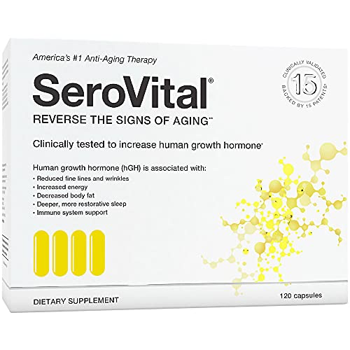 SeroVital Renewal Complex 120 Count - SeroVital for Women - Renewal Supplements for Women - Female Critical Peptide Support - Revitalizer for Women