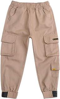 HOSD Overoles para niños Pantalones para niños 2019 nuevos Pantalones Casuales de Invierno para niños más Engrosamiento de...
