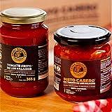 Tomate de Los Palacios Pack Personalizable TIERRA PALACIEGA (Tomate Frito - Pisto - Mermeladas de Tomate Rojo y Verde)