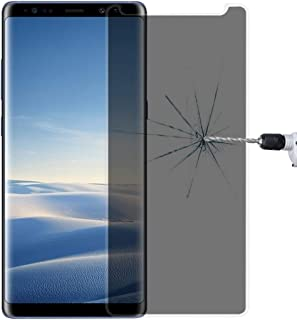 Screen Protector Foils for Galaxy Note 8 0.26mm 9H Surface Hardness 3D Curved Privacy Anti-Glare Non-Full Screen Tempered ...