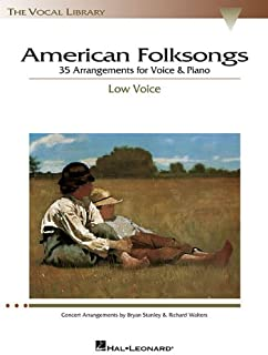 American Folksongs - Low Voice (The Vocal Library Series)