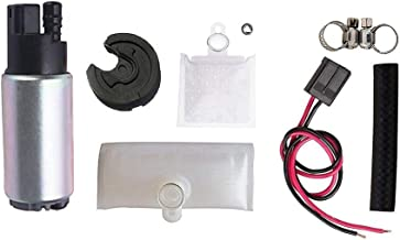Fuel Pump And Strainer for Cars Trucks SUVs GAS Fuel Pump Universal With Installation Kit Fits Chevrolet Acura Chrysler Dodge Honda Hyundai Subaru OEM # E2068 HFP-382