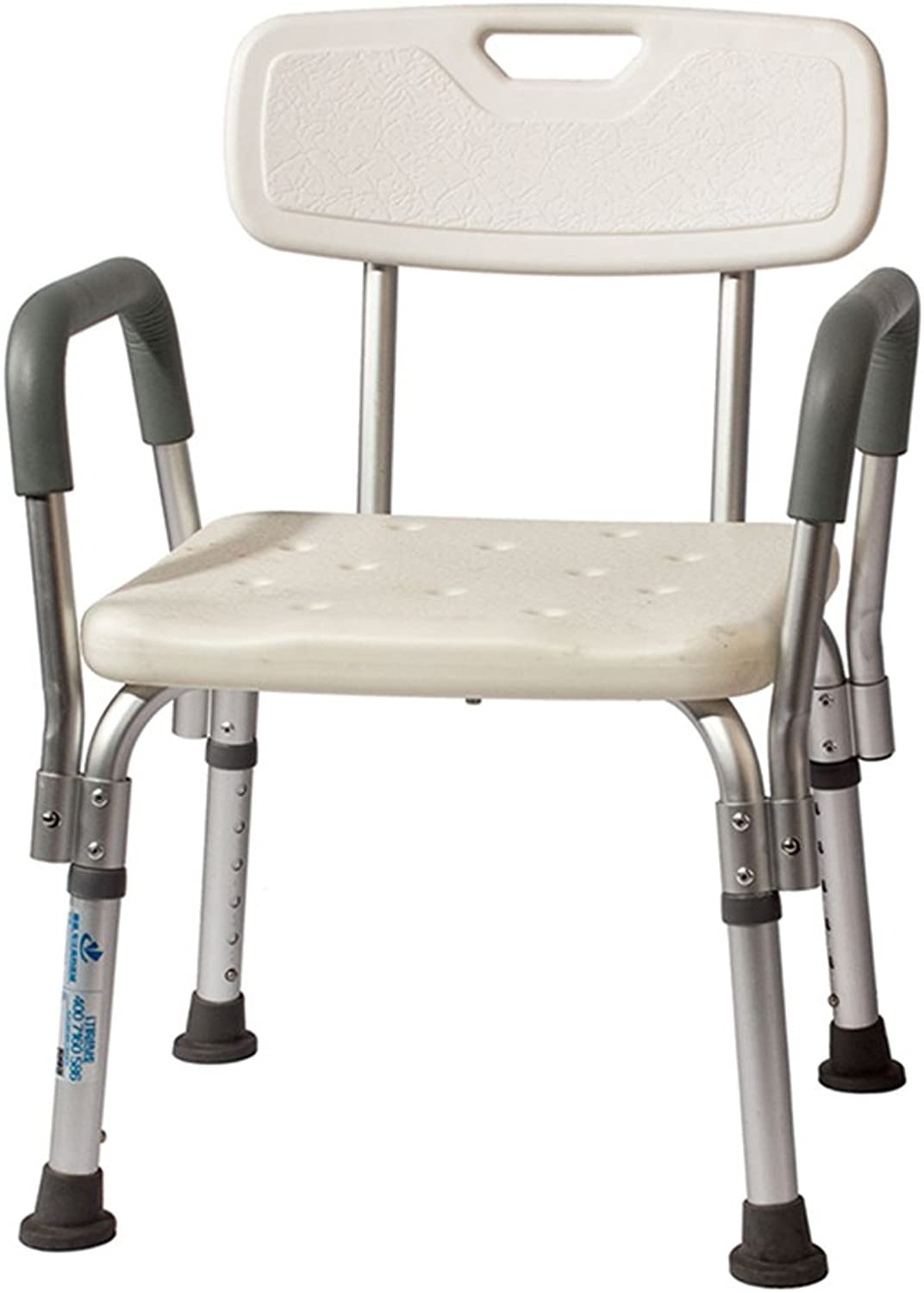 Shower Chair, The Elderly Shower Stool Pregnant Women Bath Chair Removable Aluminum Alloy Bath Chair Safety Portable