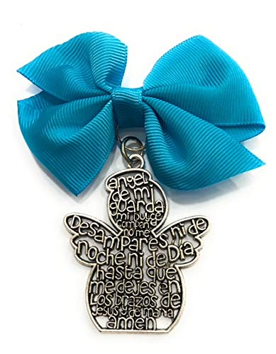 De Bussy Medalla Cuna Metal Angel Lazo Azul