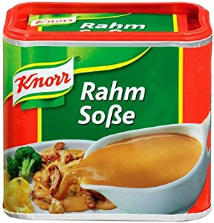 Knorr Creamy Gravy for Meat (Rahm-Sosse) -Pack of 2 Containers