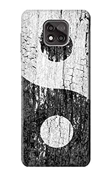 R2489 Yin Yang Wood Graphic Printed Case Cover for Motorola Moto G Power  2021