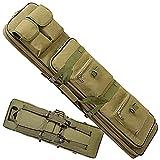 ZXLZM Funda Escopeta Caza, Bolsa de Armas, Rifle Bolsa, Bolsa TáCtica, para CañA de Pescar Escopeta Carry (4 Colores Disponibles),ArmyGreen-120cm