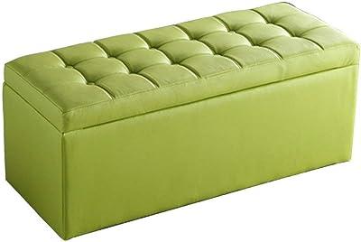Amazon.com: Footstools Ottoman Upholstered Pouffes Storage ...