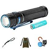 Olight Baton Pro Linterna Poderoso 2000 lúmenes / 132 metros CW LED Linternas Recargable impermeable...