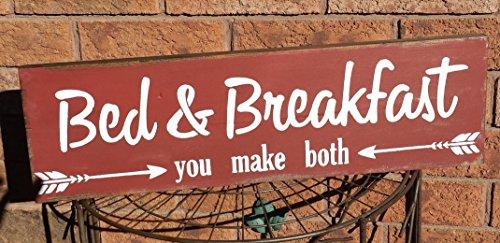 Norma Lily Bett Frühstück Humorvolle Schild Bed and Breakfast Sie bothgag Geschenk Mom Geschenk