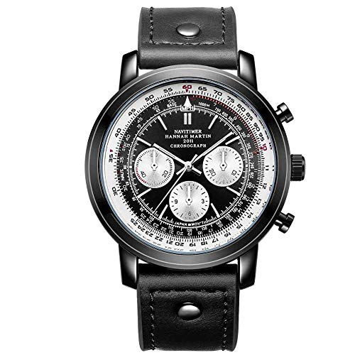 Smartwatches,Pilot Aviation Chronograph Sport Gürteluhr D