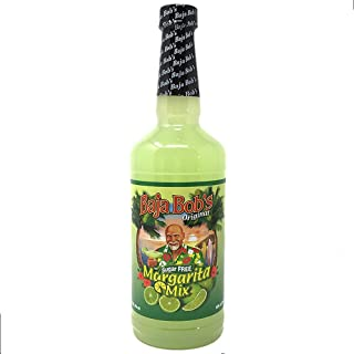 Baja Bob's ORIGINAL MARGARITA Mix - 32 oz - Sugar Free Cocktail Mixer - Keto Friendly
