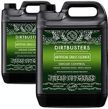 Dirtbusters Nettoyant pour Gazon Artificiel avec Odeur réactive et désodorisant d'urine fraîchement coupée nettoie Les Taches et neutralise Les odeurs