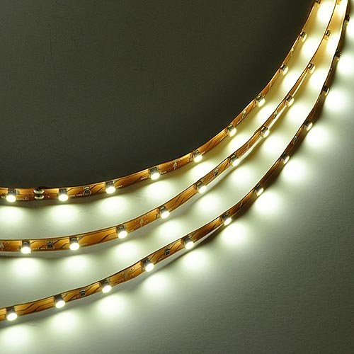 LEDwholesalers 16.4 Feet (5 Meter) Flexible LED Light Strip with 300xSMD3528 and Adhesive Back, 12 Volt, Neutral White, 2026NW